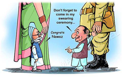 PM and Nawaz Shariff