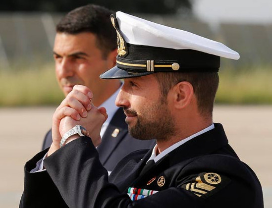 ITALIAN MARINE salvatore-girone BACK