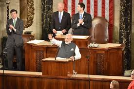 Modi in US CONGRESS 2
