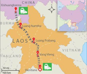 China LAOS AMBITIONS
