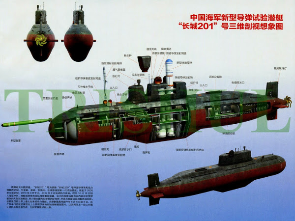 S-30 CHINA  Type 032 Qing-class SSK-2