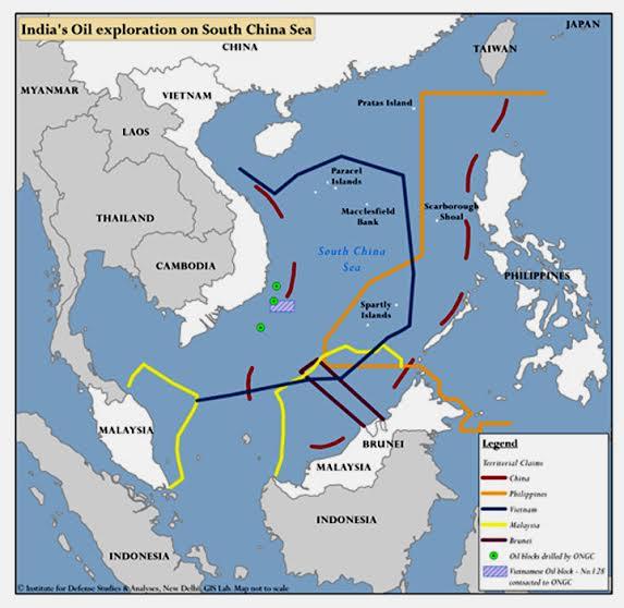 SOUTH CHINA SEA EXPLORATION AND NINE DASH LINE