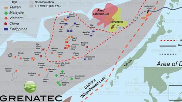 South China Sea Reefs