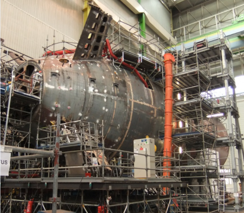 Scorpene under construction