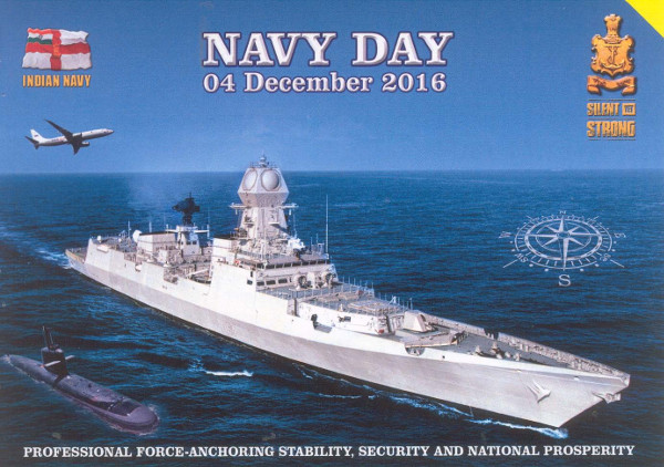Navy Day (India) - December  04