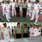 IOR-SCS SEA GOING  RADM JINLONG IS  PLA(N) CNS- ADM WU  IN CMC. WILL BOTH SAFEGUARD     MARITIME INTERESTS IN  ORMARA AFTER GWADAR  HUMBANTOTA & DJOUBITI & MEET INDIA'S  RISE WITH  CPEC OROB &MSR ? CHINA'S ECONOMY WILL RISE  SAYS DR BARU &  HANDLE THE DEBT AND RISKS !