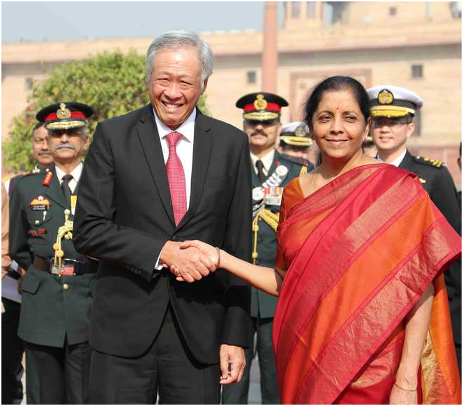 SINGAPORE PLANNED ITS MARITIME FOREIGN POLICY FOR STRATEGIC  PARTNERSHIP WITH INDIA AND ECONOMIC TRUCK WITH CHINA—PLANNING HAS PAID OFF --CREDIT INDIAN NAVY ON NAVY DAY 4TH DEC ???