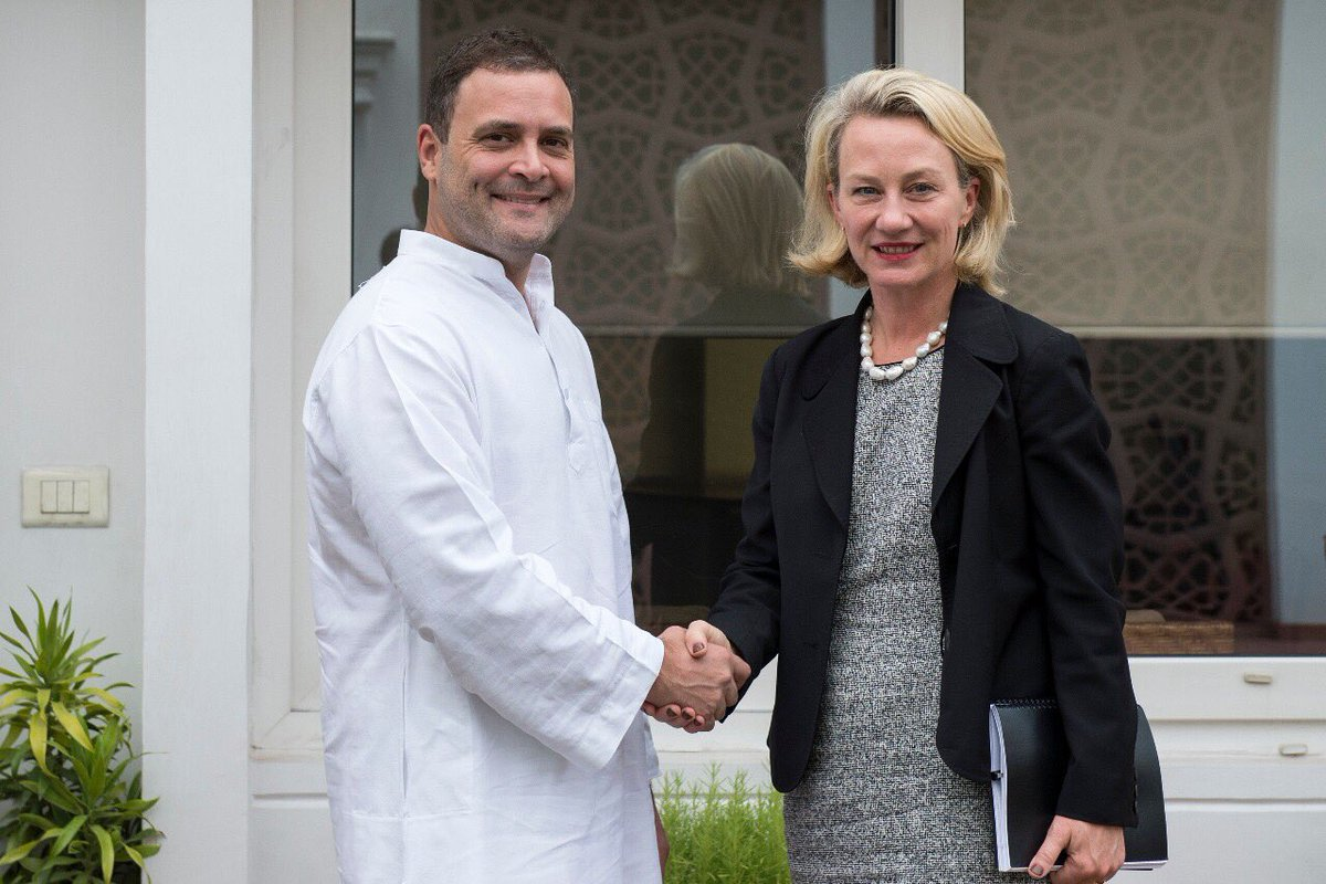 US UNDER SECRETARY  ALICE WELLS RECKONS 2 PLUS 2  IS ABOUT TIME US INDIA SECURITY RELATIONS ARE OPERATIONALISED --- JAPAN'S  ONODERA ON MARITIME SECURITY &  CHINA'S GEN FENGE TO KEEP  PEACE ON  BORDERS  AS PER WUHAN  CAME ---DOES IT  INCLUDE RESPITE FOR CPEC THRU  POK & BHUTAN'S DOKLAM ?