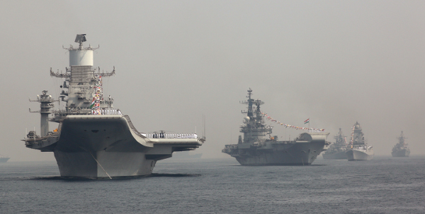 NINE NAVY CHIEFS TOLD IDF - INDIA'S  INTERNATIONAL FLEET REVIEW 2016   AT VISHAKAPATNAM WAS PROFESSIONAL AND  FLAWLESS—AND THEY KNOW WHAT AN IFR MEANS